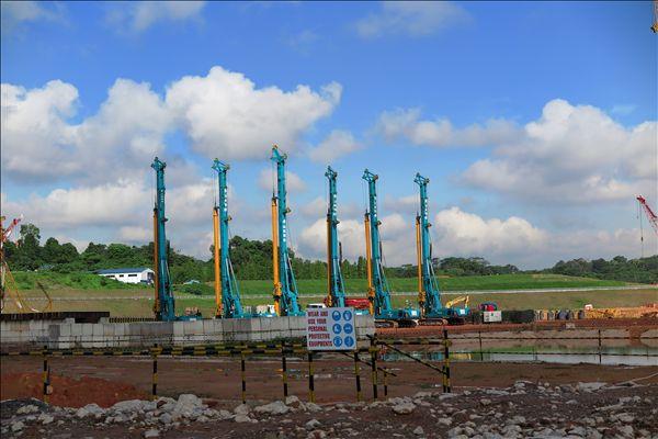 山河智能旋挖钻机中标新加坡地铁建设项目