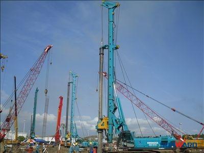 山河智能旋挖钻机助力委内瑞拉中央电厂建设