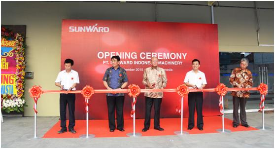 山河智能印尼子公司隆重开业