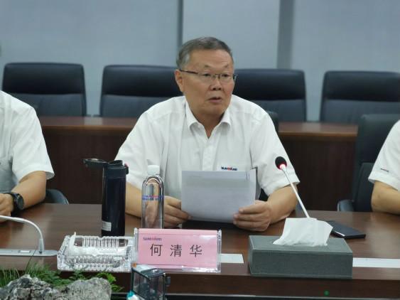 深化校企合作 湖南农大党委书记陈弘一行到访山河智能