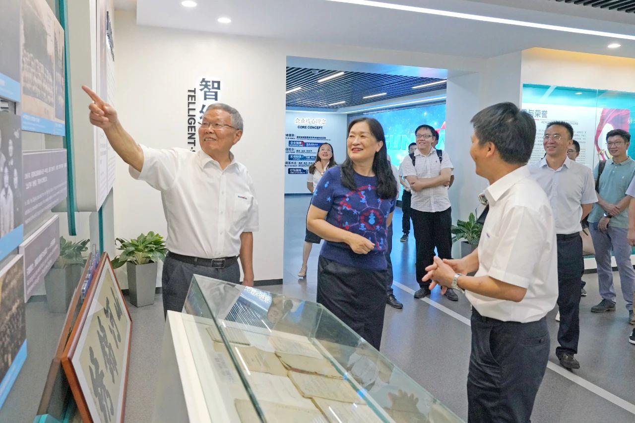 为创新创业精神点赞!中国工程院院士陈晓红一行到访山河智能