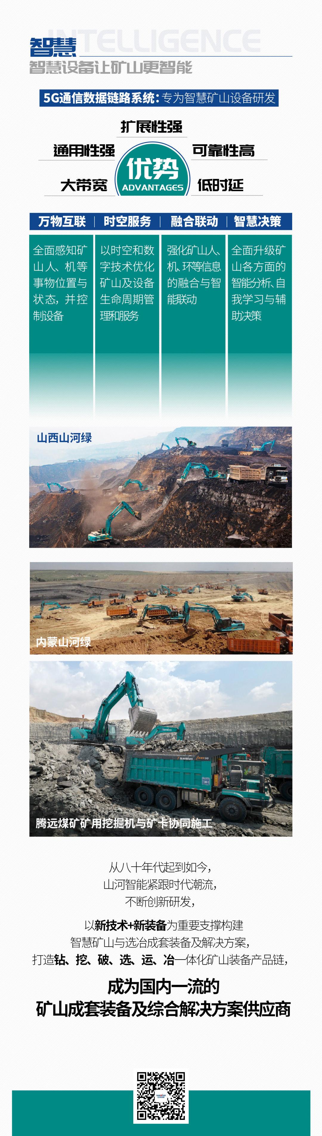 一图读懂   6大作业场景全覆盖,山河智能绿色矿山与冶炼成套装备优势凸显