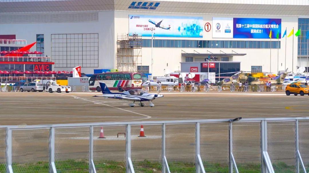 高光时刻!珠海航展唯一进行飞行表演的轻型运动飞机来啦