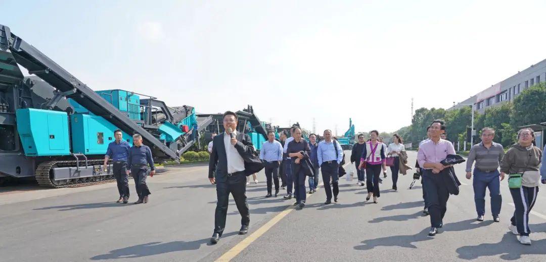 湖南省矿业协会第二届一次会员代表大会暨第二届一次理事会在山河智能顺利召开
